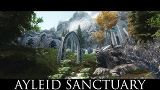 TES V - Skyrim Mods: Ayleid Sanctuary