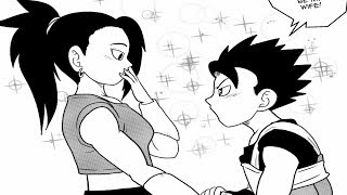 KALE MARRIES CABBA (Dragon Ball Super COMIC DUB)