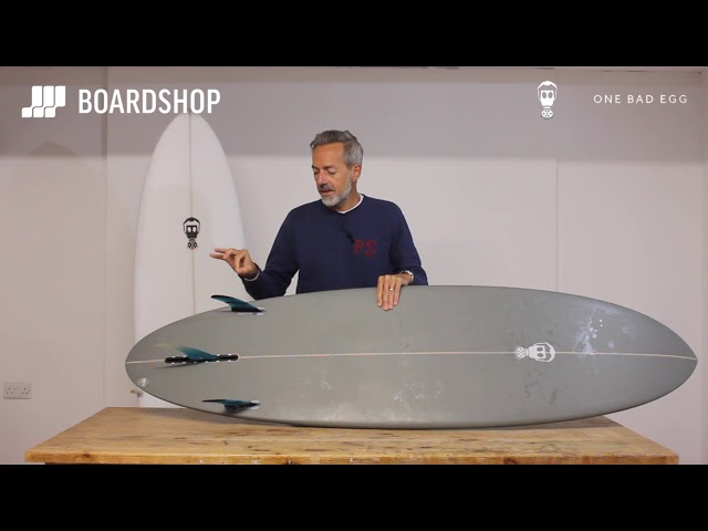 Mark Phipps One Bad Egg Surfboard Review