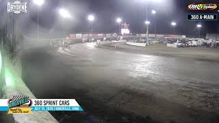 Knoxville Raceway 360 Highlights - July 10, 2020