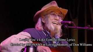 Loving You's Like Coming Home Lyrics