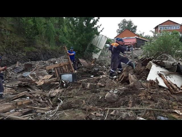 Добровольцы помогут привести в порядок территории, попавшие в зону ЧС в Приангарье
