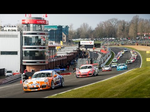 Porsche Carrera Cup GB 2016: Brands Hatch Rounds 1 & 2 Highlights
