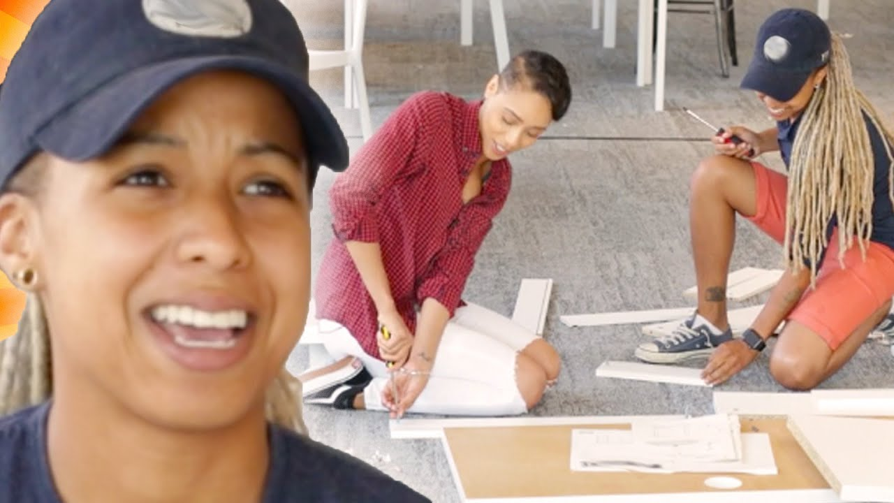 Couples Try To Build A Desk Without Instructions thumbnail
