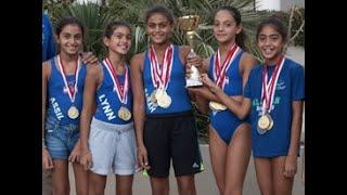 2016 Dec29 Proswim - Najjah Golden Girls(12-13 years) break 4x50 IM age gro ..