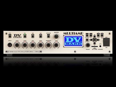 DV MARK Multiamp Mono  Kytarový modelingový zesilovač