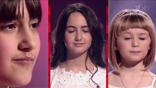 Дегтярёва, Работова, Болдарева - Все пути ангелов   Голос Дети 3 2016 Поединки