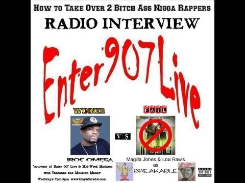 How to Take Over 2 Bitch Ass Nigga Rappers Radio Interview