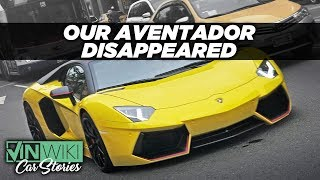 Our Aventador disappeared during shipping