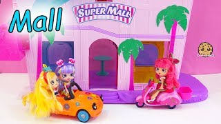 Black Friday Shopping ! Shopkins Shoppies Dolls Shop At Super Mall - Toy Video
