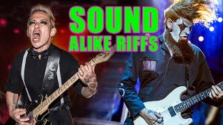 13 Riffs That You Never Realised Sound EXACTLY The Same