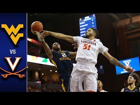 Virginia vs. West Virginia Men's Basketball Highlights (2016-17)