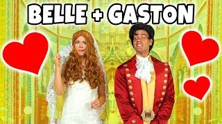 BELLE AND GASTON GET MARRIED? Should Belle Marry Gaston or Prince Adam from Beauty and the Beast.