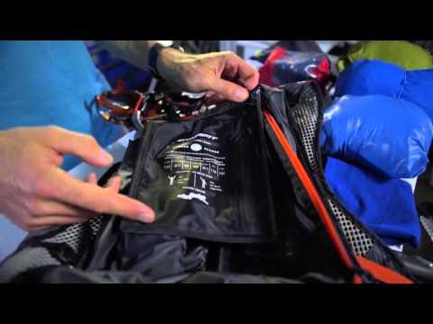Wie du einen Skitourenrucksack am Besten packst