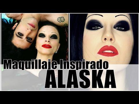 Maquillaje inspirado en ALASKA || GotyMakeUp3