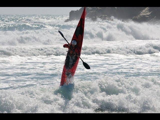 SEA KAYAK SURF amb KAYAKING COSTA BRAVA (13-03-11)