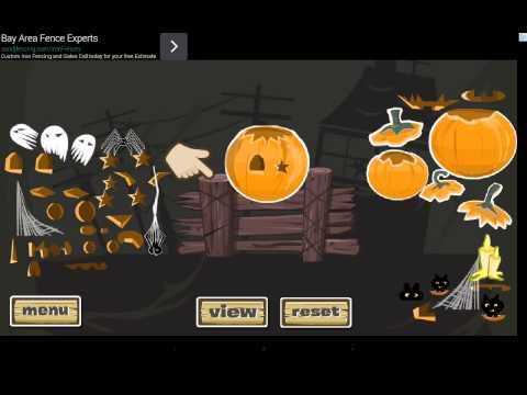 Video of Jack -O- Lantern Designer