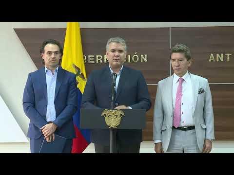 Presidente Duque sobre la designacion de la nueva ministra de Justicia, Margarita Cabello