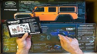 BIG Traxxas Haul   Traxxas TRX4 SPORT Unboxed   RC Lift Kit Install  Traxxas Defender Adventure Body