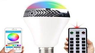 InaRock Bluetooth Smart LED Light Bulb and Speaker Review