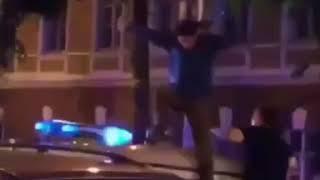 В Воронеже полицейские жестоко избили парня дубинками, после победы России над Испанией
