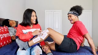 WAXING JAZZ LEG'S FOR THE FIRST TIME!!! (HILARIOUS)