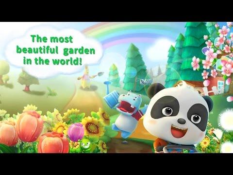 Baby Panda's Flower Garden BabyBus Android İos Free Game GAMEPLAY VİDEO