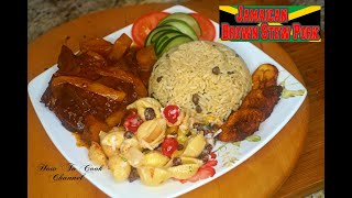 HOW TO MAKE JAMAICAN BROWN STEW PORK RECIPE JAMAICAN ACCENT 2016