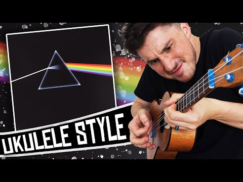 Pink Floyd - The Dark Side Of The Moon on a UKULELE!