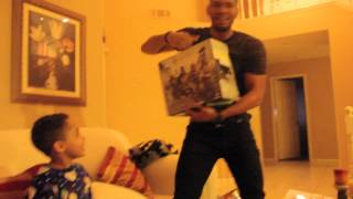 Wife Surprises Husband for Christmas