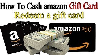 Redeem a amazon gift card How To Cash On Your amazon Gift Card  Balance