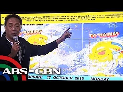 TV Patrol: 'Lawin', maaring maging 'super typhoon'