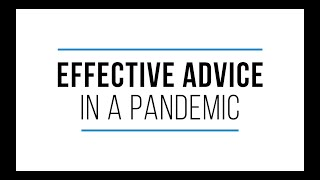 Effective Advice in a Pandemic: FDIC Coverage and Security for Your Deposits