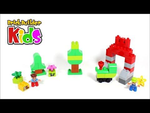 Vidéo LEGO Duplo 10622 : La grande boîte de construction créative LEGO DUPLO