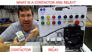 Relays and Contactors - How Do They Work and What is the Difference