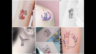 Inspirational  Small Animals And Birds Tattoo Design Ideas