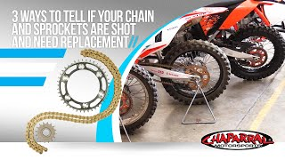 3 Ways to Tell If your Chain and Sprockets are Shot and Need Replacement