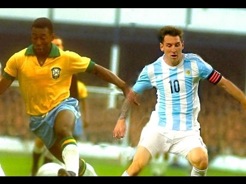 The Legend Pelé 🇧🇷  VS  Messi 🇦🇷  -HD