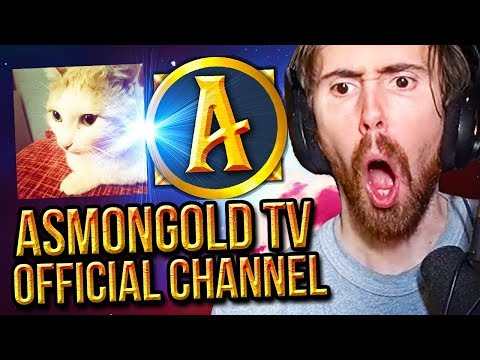 Asmongold Announces NEW OFFICIAL YouTube Channel - Asmongold TV