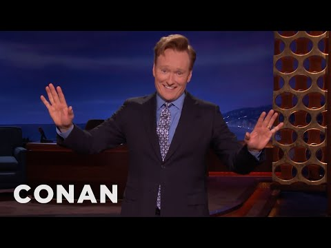 CONAN Monologue 04/24/17  - CONAN on TBS