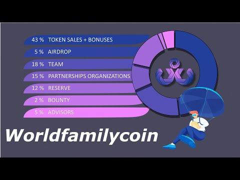 Ganhe ~$12 Dólares no Airdrop Worldfamilycoin MUITO FÁCIL !!!!