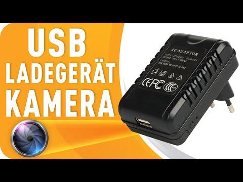 USB Ladegerät Kamera 1080p Full HD Mini-Kamera USB-Netzteil mit versteckter Spionage Kamera