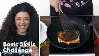 50 People Try To Make A Grilled Cheese Sandwich | Epicurious