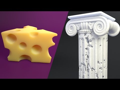 3D Modeling Made Easy with Cinema 4D R20 Volume Modeling