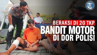 Beraksi di 20 TKP, Dua Bandit Motor Ditembak Polisi di Surabaya