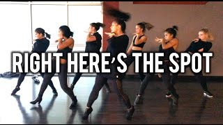 Right Here's The Spot feat Trinity Inay | @brianfriedman Choreo | KreativMndz