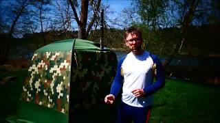 Mobiba Test   Unsere ersten Erfahrungen mit der mobilen Sauna   das Saunazelt