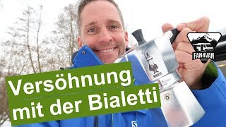 NACHTRAG zu dem BESTEN Kaffee im Womo - so geht´s mit der Bialetti