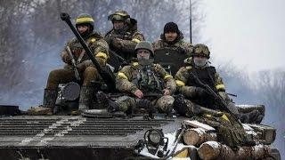 Попытка прорыва силовики потеряли около 40 бойцов под Дебальцево Новости 22.12.2016