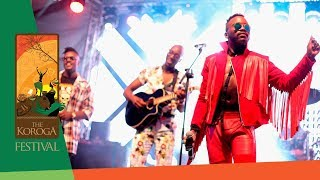 "Sauti Sol Wows With ""Awinja"" Live At The Koroga Festival"